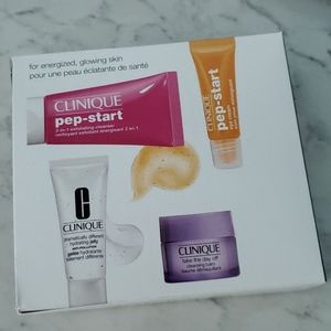 Clinique cleanser starter kit